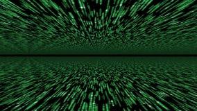 Матрица 3d - сырцовая неизданная предпосылка Стоковые Изображения