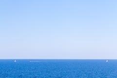 Матросы в море Стоковое фото RF