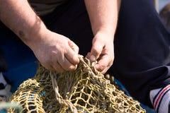 матросы занятий рыболовства Стоковое Изображение