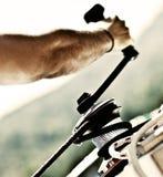 матрос вытягивая веревочек Стоковое Фото