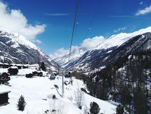 Маттерхорн срочный, Швейцария стоковые фотографии rf