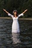 Матушка-природа в воде Стоковые Фото