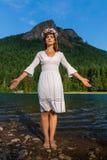 Матушка-природа и гора Стоковые Фото