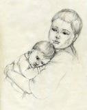 мать внимательности бесплатная иллюстрация