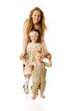 мать детей стоковая фотография