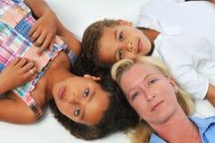 мать детей стоковые фотографии rf