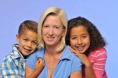 мать детей Стоковые Фото