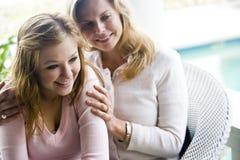 мать дочи предназначенная для подростков Стоковое фото RF