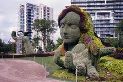 Мать-земля на Mosaicanada Стоковое Изображение RF