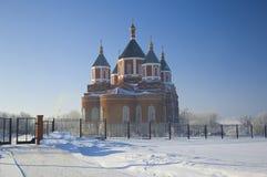 мать иконы бога собора iversky Стоковые Фотографии RF