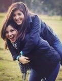 Мать и дочь Стоковая Фотография
