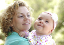 Мать и дочь Стоковая Фотография RF