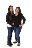 Мать и ее дочь-подросток стоковые фото