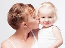 Мать и младенец Стоковые Фотографии RF
