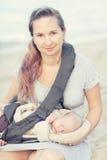 Мать и младенец Стоковые Изображения RF