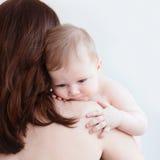 Мать и младенец Стоковое Фото