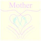 Мать и младенец Стоковое фото RF