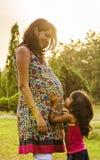 Мать и дочь Стоковое Изображение