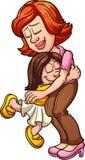 Мать и дочь иллюстрация вектора