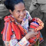 Мать и ребенок Карена Стоковые Изображения RF