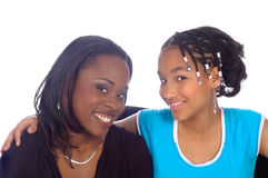 Мать и ребенок Стоковые Изображения RF