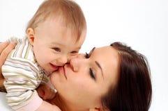 Мать и ребёнок Стоковые Изображения