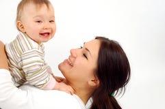 Мать и ребёнок Стоковое Изображение RF