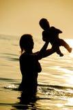 Мать и сынок Стоковое Изображение