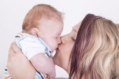 Мать и сынок Стоковые Изображения RF