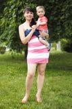 Мать и сын семьи стоковые изображения rf