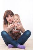 Мать и сын Стоковые Изображения