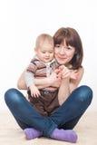 Мать и сын Стоковое Изображение RF