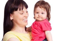 Мать и дочь Стоковые Фотографии RF