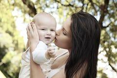 мать мальчика Стоковое Изображение RF