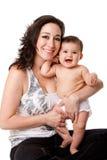 мать младенца счастливая Стоковая Фотография RF