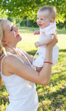 мать младенца Стоковые Изображения