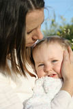 мать младенца Стоковые Фото