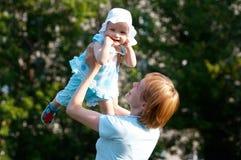мать младенца Стоковое Фото