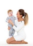 мать младенца малая Стоковая Фотография RF