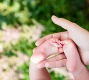 мать младенца напольная Стоковые Изображения RF