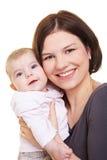 мать нося девушки младенца Стоковое Изображение RF