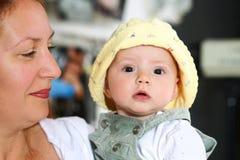мать ребенка счастливая стоковое изображение