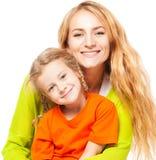 мать ребенка счастливая Стоковая Фотография