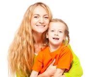 мать ребенка счастливая Стоковые Изображения RF