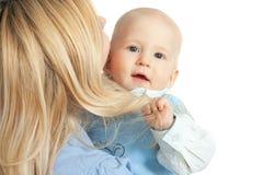 мать семьи младенца счастливая стоковые изображения rf