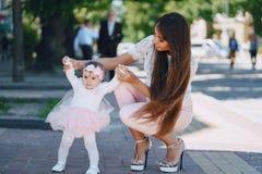 Мать с дочью Стоковое фото RF