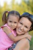 Мать с ее дочью Стоковое Фото