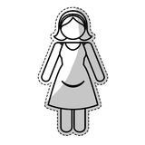 Мать с изображением значка ребенка бесплатная иллюстрация
