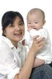 Мать с младенцем стоковые фотографии rf