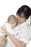 Мать с младенцем стоковые изображения